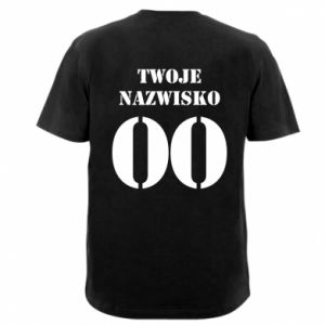 T-shirt Name and number