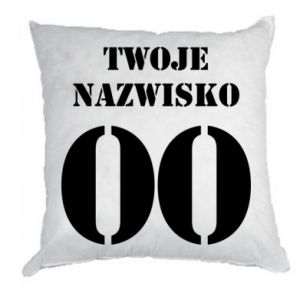 Pillow Name and number