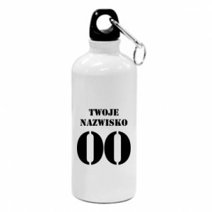 Water bottle Name and number