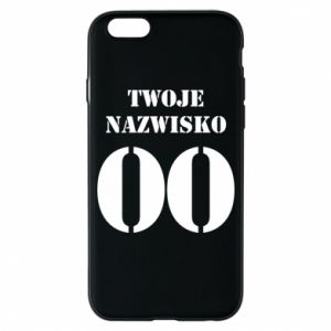 Phone case for iPhone 6/6S Name and number