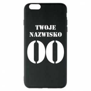 Phone case for iPhone 6 Plus/6S Plus Name and number