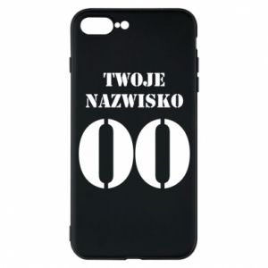Phone case for iPhone 7 Plus Name and number