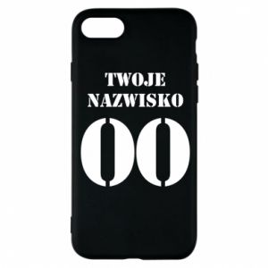 Phone case for iPhone 8 Name and number