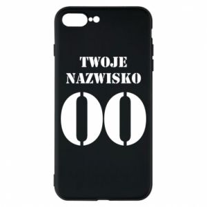 Phone case for iPhone 8 Plus Name and number