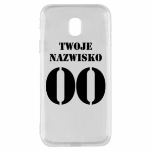 Phone case for Samsung J3 2017 Name and number