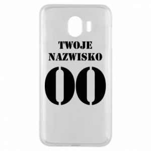 Phone case for Samsung J4 Name and number