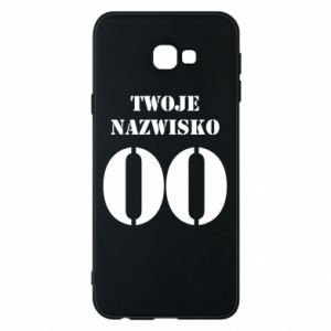 Phone case for Samsung J4 Plus 2018 Name and number