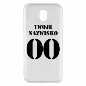 Phone case for Samsung J5 2017 Name and number