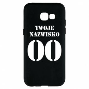 Phone case for Samsung A5 2017 Name and number