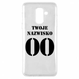Phone case for Samsung A6+ 2018 Name and number