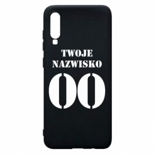 Phone case for Samsung A70 Name and number