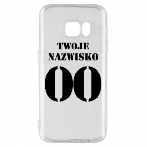 Phone case for Samsung S7 Name and number