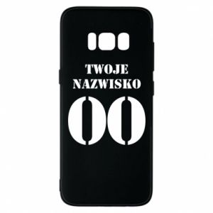 Phone case for Samsung S8 Name and number
