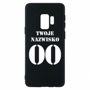 Phone case for Samsung S9 Name and number