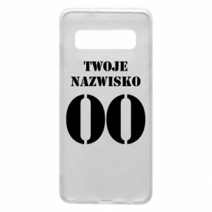 Phone case for Samsung S10 Name and number