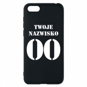 Phone case for Huawei Y5 2018 Name and number