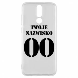 Phone case for Huawei Mate 10 Lite Name and number