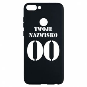 Phone case for Huawei P Smart Name and number