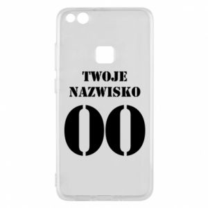 Phone case for Huawei P10 Lite Name and number