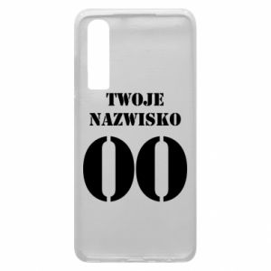 Phone case for Huawei P30 Name and number