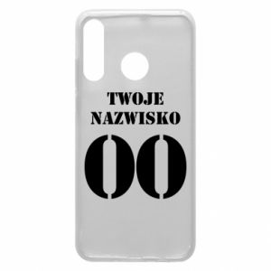 Phone case for Huawei P30 Lite Name and number