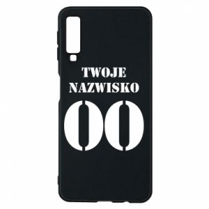 Phone case for Samsung A7 2018 Name and number