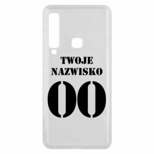 Phone case for Samsung A9 2018 Name and number