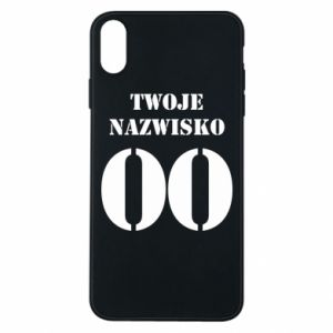 Phone case for iPhone Xs Max Name and number