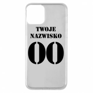 Phone case for iPhone 11 Name and number