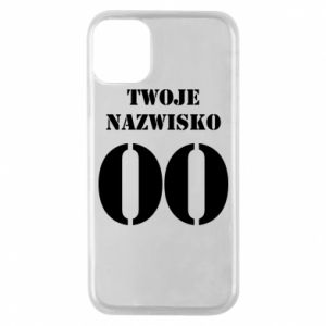 Phone case for iPhone 11 Pro Name and number