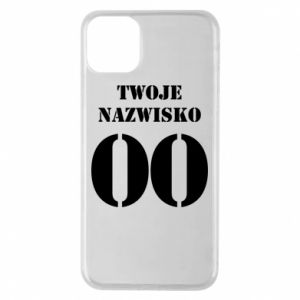 Phone case for iPhone 11 Pro Max Name and number