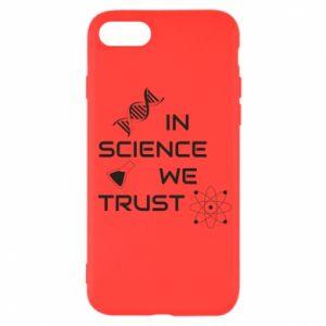 Etui na iPhone SE 2020 In science we trust
