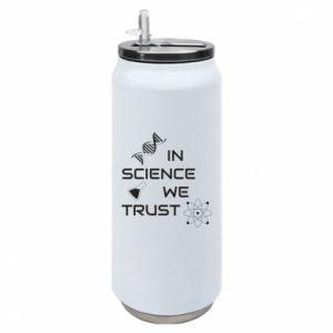Puszka termiczna In science we trust