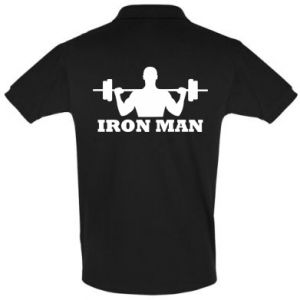 Men's Polo shirt Iron man - PrintSalon