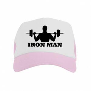 Kid's Trucker Hat Iron man