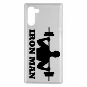 Samsung Note 10 Case Iron man