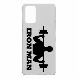 Samsung Note 20 Case Iron man