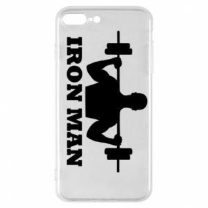 Phone case for iPhone 7 Plus Iron man - PrintSalon