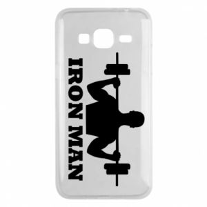 Phone case for Samsung J3 2016 Iron man
