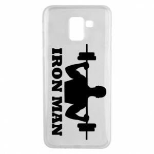 Phone case for Samsung J6 Iron man