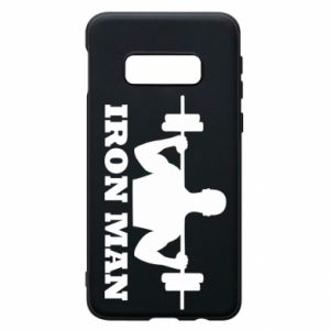 Phone case for Samsung S10e Iron man - PrintSalon