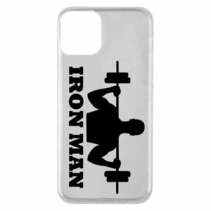 Phone case for iPhone 11 Iron man