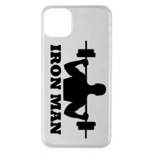 Phone case for iPhone 11 Pro Max Iron man