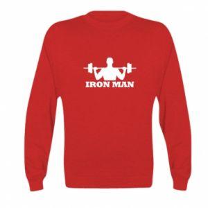 Kid's sweatshirt Iron man