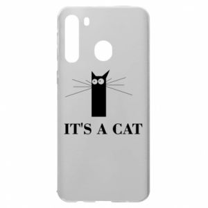 Samsung A21 Case It's a cat