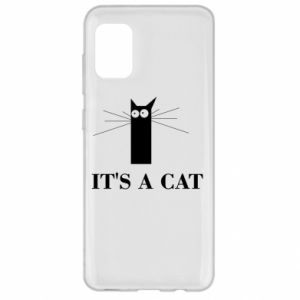 Samsung A31 Case It's a cat