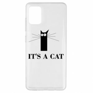 Samsung A51 Case It's a cat