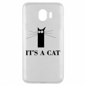 Samsung J4 Case It's a cat
