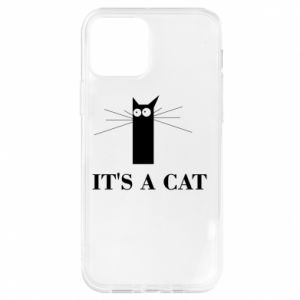 iPhone 12/12 Pro Case It's a cat