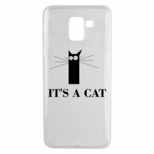 Samsung J6 Case It's a cat